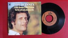 """Rare !!! Disque vinyle 45T - Joe Dassin – Côté Banjo, Côté Violon"""" NM/NM"""