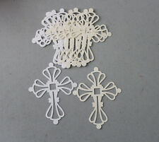 Stampin' Up CS/Sizzix Die Whisper White/Very Vanilla Cross Die Cuts 20 Religious
