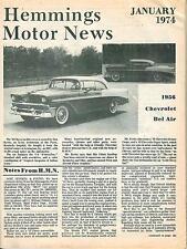 1974 (7) HEMMING'S MOTOR NEWS Back Issues  - Jan-Feb-Mar-May-Oct-Nov-Dec