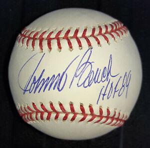 Johnny Bench Cincinnati Reds autographed authentic MLB baseball