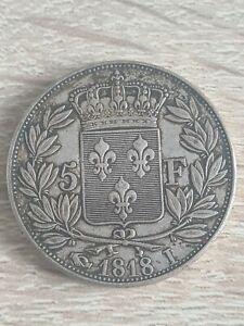 5 Francs Louis Xviii 1818I