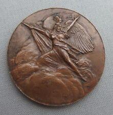 R. BENARD médaille en bronze Assemblée Nationale 1958 République française