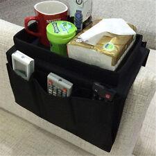 Canapé Chaise Accoudoir 6 Pocket Organisateur Canapé Télécommande Stockage Tray Holder