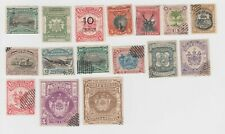 North Borneo Mint Hinge #65, 71, 75; Mint No Gum #62 & Several Used with #72, 73