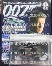 EAGLEMOSS JAMES BOND CAR COLLECTION - #2 ASTON MARTIN V12 DIE ANOTHER DAY - NEW