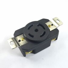 NEMA L21-30R 30A 125V/208V 3Phase Locking Electrical Plug Female Wall Receptacle