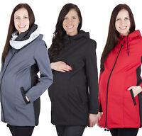 Comfortable Maternity Pregnancy warm and elegant coat jacket 100% Softshell