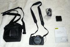 Nikon CoolPix P600 Black Digital Camera and Official Case.