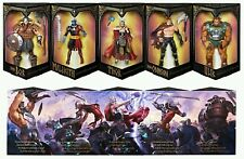 SDCC 2017 HASBRO EXCLUSIVE MARVEL LEGENDS SERIES BATTLE FOR ASGARD 5-PACK THOR