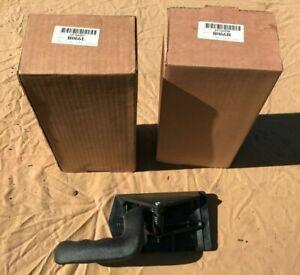 Black Interior Inner Inside Door Handle Pair Set of 2 for Silverado Pickup Truck