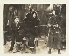 "Charles Chaplin & Mark Swain in ""The Gold Rush"" Original Vintage Photo 1925"