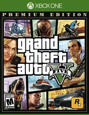 Grand Theft Auto V Premium Edition (Xbox One, 2018) (0337) Free Shipping