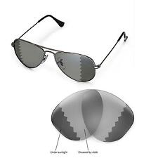 New WL Polarized Transition Lenses For Ray-Ban Aviator RB3044 Small Metal 52mm