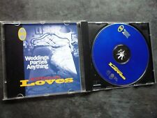 WEDDINGS PARTIES ANYTHING DIFFICULT LOVES UK COOKING VINYL CD ALBUM EXC COOK 059