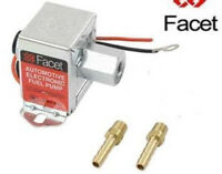 FACET 4.0 - 7.0 psi Fuel Pump with 8mm unions 40106 solid state electric pump