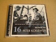 CD HET LAATSTE NIEUWS CD-COLLECTIE N° 16 / HET BESTE VAN PETER KOELEWIJN
