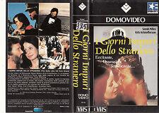 I GIORNI IMPURI DELLO STRANIERO (1976) VHS