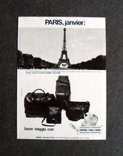 [GCG] L171- Advertising Pubblicità -1979- VALIGE GEMEL FULL TIMR , BUON VIAGGIO
