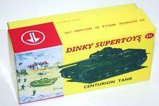 DINKY Reproduction Box 651 Centurion Tank - Diorama