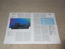 Revox B-226s CD-Review, 1989, 2 PG, voll testen, Info, High-End Revox