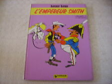LUCKY LUKE L'EMPEREUR SMITH EO DARGAUD ANNEE 1976