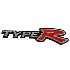 3D Alloy Metal TYPE R TYPER Logo Car Emblem Badge Sticker Decal for Honda