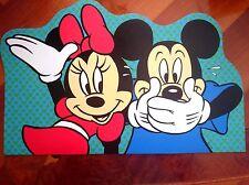 Tovaglietta americana pvc asilo colazione bambini/e Disney, Minnie e Topolino.