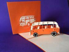 VW Camper 3D pop up card