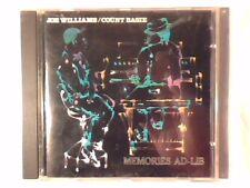 JOE WILLIAMS COUNT BASIE Memories ad-lib cd ITALY RARISISMO VERY RARE!!!