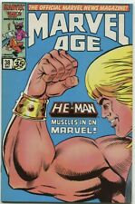MARVEL AGE #38. HE-MAN. HUGE FOR MOVIE. CGC IT 9.8!!