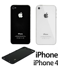 Back Cover Copribatteria ORIGINALE Vetro posteriore Per iphone 4S 4GS NERO BLACK
