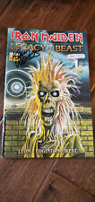2019 SDCC HEAVY METAL IRON MAIDEN COMIC BOOK SIGNED KEVIN WEST GLOW IN DARK /666