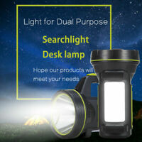 HOT LED Rechargeable Work Light Hand Torch Candle Security Spotlight Lamp US dfg