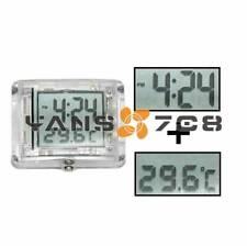 Motorcycle Luminous Vehincal Waterproof Digital Clock Watch with Temperature