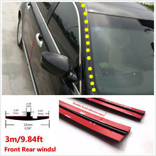 Waterproof Sealed Strip Trim 10ft/3m Car Windshield Sunroof Triangular Window