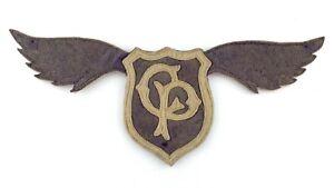 Antique School Patch Unknown School Crest CP 10in 25.5cm M532