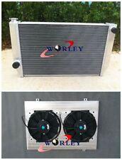 FOR Ford Falcon V8 6cyl XC XD XE XF Aluminum Alloy Radiator + SHROUD + FANS