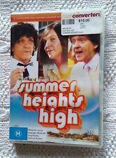 SUMMER HEIGHTS HIGH (DVD, 2-DISC SET) REGION-4,VERY GOOD, FREE POST IN AUSTRALIA