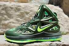 "06 Nike Air Max Hyperposite 2 ""Hulk"" Green Basketball Shoes US Men's Size 8"