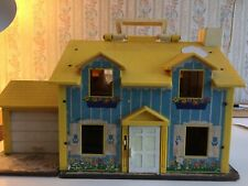 dollhouse vintage Fisher Price, 1969, charming