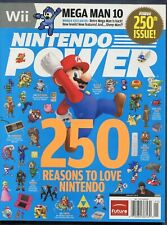 2010 Nintendo Power Magazine #250 January Super Mario NewsStand Var. High Grade