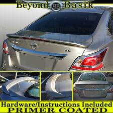 For 2013 2014 2015 Altima 4DR Factory Style Trunk Spoiler Wing w/LED PRIMER