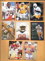 1995 Collector's Choice #9 Warren Sapp Rookie 7 W. Sapp RC  Buc's Football Cards