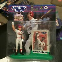 F45 2000 COMM EDITION MARK MCGWIRE CARDINALS Starting Line Up NIB FREE SHIPPING