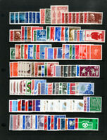 Norway All NH Stamp Collection High Catalog Value