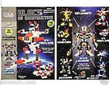 BLOC DE CONSTRUCTION ROBOT TRANSFORMABLE 121 PCS METAROBOTS JOUET