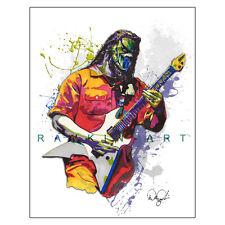 "Mick Thomson Slipknot Heavy Metal Guitar 11x14"" Music Art Print Poster"