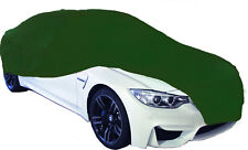 Cosmos Indoor Car Cover MEDIUM Green Supersoft Breathable Dustproof Fabric