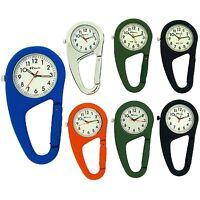 New Ravel Clip On Doctors Nurses Unisex Carabiner Fob Backpack Watch R1105