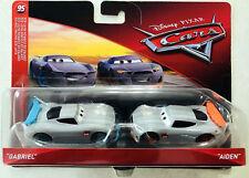 CARS 3 - GABRIEL & AIDEN -  Mattel Disney Pixar